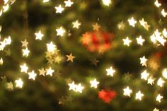 the hobby room diaries: Holiday Lights Bokeh