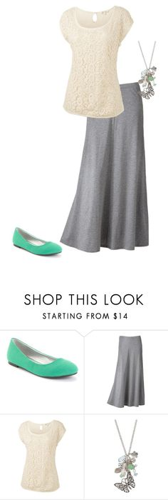 """""""Minty Lace"""" by beautiful-and-unique ❤ liked on Polyvore featuring Barefoot Tess, LC Lauren Conrad, Fat Face, maurices and gretchwardrobesudoku6"""