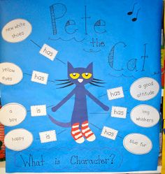 Pencils, Glue, & Tying Shoes: Pete the Cat and Daily 5