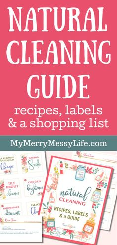 Natural Cleaning Guide {Printable} – My Merry Messy Life Baking Powder Uses, Baking Soda Uses, Baking Soda For Hair, Baking Soda Shampoo, All You Need Is, As You Like, Cleaning Recipes, Cleaning Hacks, What Is Baking
