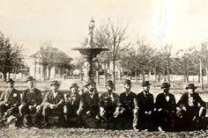 Dedication of fountain at Confederate Park in Demopolis, AL