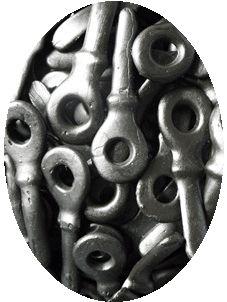 Dropsleutels kon je ook een speen van maken door de punt door het gat te drukken