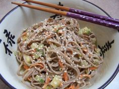 Fire and Ice Sesame Noodles from More Quick Fix Vegan by Robin Robertson