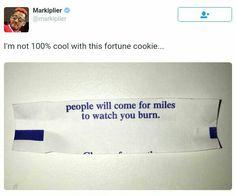 Markiplier Tweet found by #Wolfthekid