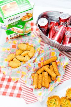 Memorial Day Weekend PSA: A party without cheesy snacks is just a meeting! Mozzarella Sticks, Snack Recipes, Snacks, Memorial Day, Frozen, Chips, Appetizers, Easy, Food