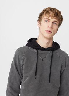 Pluszowa bluza | MANGO MAN