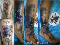 #tattoo #selfie #tattooist #illustration #artwork #sketch #ink #cover #rose #artist #watercolor #trashpolka #tattooidea #drawing #inkmaster #tattooartist