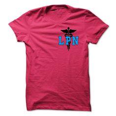 (Tshirt Coupons) LPN NURSE at Tshirt design Facebook Hoodies, Tee Shirts