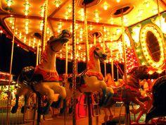 Random Fair Photo: Carousel at Night by SeeMidTN.com (aka Brent), via Flickr