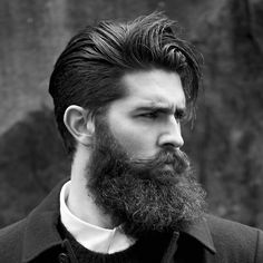 Chris John Millington: How to grow a full beard – Men's Hairstyles and Beard Models Beards And Mustaches, Moustaches, Great Beards, Awesome Beards, Sports Haircut, Haircut Men, Fade Haircut, Chris John Millington, Growing A Full Beard