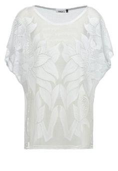 ONLFELIKSA - T-shirt z nadrukiem - cloud dancer