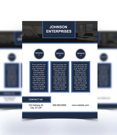 Nice Flyer Template Good For An Advertisement For A Small Business