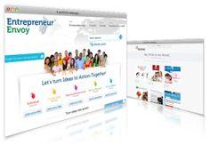 Site-uri de prezentare Contrast, Let It Be, Design