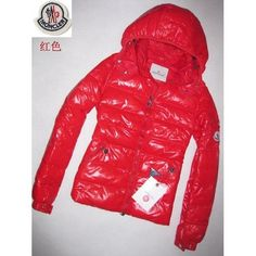 Moncler Women Jackets In Red