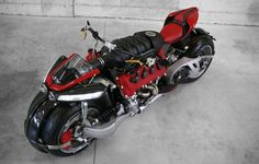 Maserati-Powered Four-Wheel Motorcycle