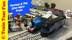 Thomas the Tank Engine Meets the Star Wars Train