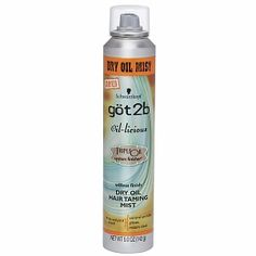 Got 2b Oil-licious Dry Oil Hair Taming Mist - to try