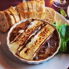 Mushroom Brûlée at Ba Restaurant Highland Park (LA) on York Blvd