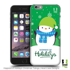 Head Case Penguin Happiest of Holidays Christmas Tidings Design for your mobile device Penguins, Christmas Holidays, Create Your Own, Smartphone, Happy, Design, Christmas Vacation, Penguin