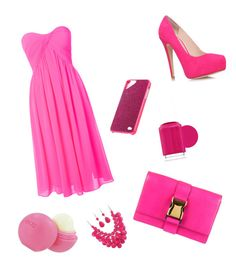 """""""On Wednesdays we wear pink"""" by happykat2004 ❤ liked on Polyvore"""