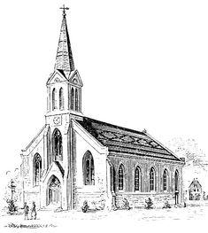 church clipart black and white Google Search Black and white google Cathedral Black and white