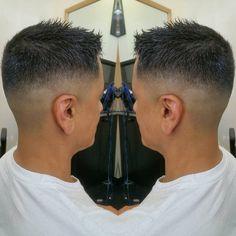 Men's Haircut Bald Fade #salonvolt