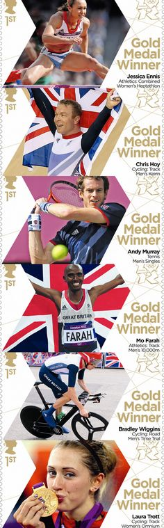 A selection of the NEW #Olympic Stamps by Royal Mail