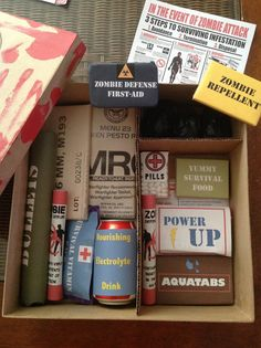 » Blog Archive » A Very Undead Valentine's Day - zombie survival kit with candy