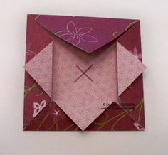 Origami Shadow Box Fold