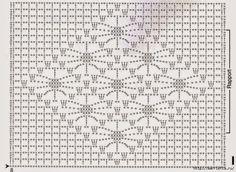 Delicado mantelito con borde de puntillas | Crochet y dos agujas