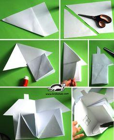 children activities, more than 2000 coloring pages casa de papel A schoolhouse book quiltqu krokotak How to Make a Paper House Paper Doll House, Paper Houses, Paper Dolls, Fabric Dolls, Rag Dolls, Diy Paper, Paper Art, Paper Crafts, Foam Crafts