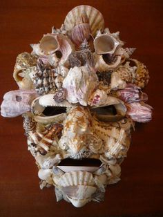 Modern italian shell mask.