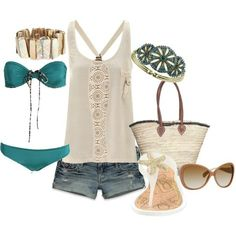 We looove this with the Aloha board shorts!