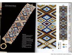 Flat Peyote Stitch Designs | IMG] | flat peyote patterns
