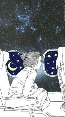 Ela vive em um mundo que se chama Lua
