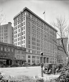 """Washington, D.C., 1924. """"Interstate Commerce Commission building."""""""