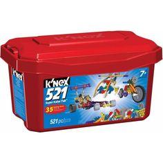 Buy K'NEX 521 Piece Value Tub at Walmart.com (MAXWELL)