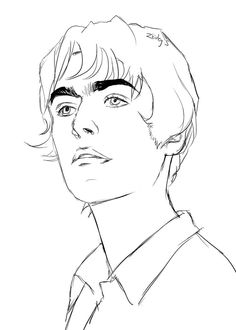 Liam Gallagher by Cool Art Drawings, Cartoon Drawings, Easy Drawings, Banda Oasis, Catfish And The Bottlemen Lyrics, Oasis Music, Oasis Band, Emo Art, Artist Wall