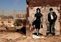 Zilda is a French based artist who has been spreading public art for more than 10 years in the streets of Rome, Lisbon, Naples and Belgrade. Street Art Banksy, Graffiti Art, Naples, Arte Banksy, Pier Paolo Pasolini, Ephemeral Art, Italy Street, Street Gallery, Amazing Street Art