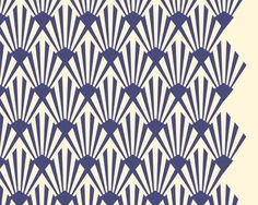 geometric art deco pattern