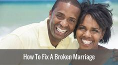 Do you want to fix a broken marriage? Do you think that your marriage is hopeless? If you answered yes to any of those questions, then continue reading. Even though it may seem that you've lost the love of your life, the truth is, you can fix your marriage. In this article, we will be looking at a few tips and guidelines that can help you to do just that.