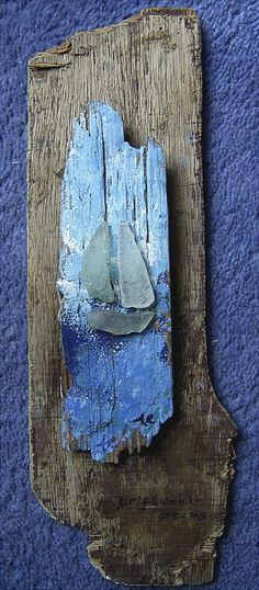 A driftwood sculpture from www.driftwood-dreams.co.uk Artist Anita Russell