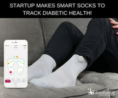SmartSocks to track #diabetic health.  Diabetic health tracking startup #SirenCare has created smart socks that use temperature sensors to detect inflammation in real-time for diabetics. A connected app sends users alerts to check their foot when the sock detects a high-temperature difference.   https://techcrunch.com/2016/11/25/siren-care-makes-a-smart-sock-to-track-diabetic-health