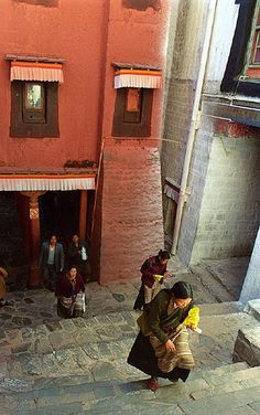 Tashilhungpo. Tibet. Tibet is a different nation of China. Tibet is not a part of China but a country.