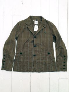 Olive Patch Pocket Hunting Jacket