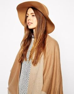 Enlarge ASOS Felt Floppy Hat With Rope Band Detail