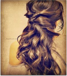 Twist Updo Hairstyle for Medium Long Hair Tutorial #hairstyles #hair ...