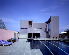 Da Monsta House in East Hampton, NY by Gwathmey Siegel Associates, 1983