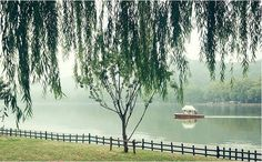 The serene and scenic West Lake in Hangzhou, China