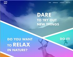 "Check out new work on my @Behance portfolio: ""DARE - extreme gradient based web design concept"" http://be.net/gallery/61404101/DARE-extreme-gradient-based-web-design-concept"